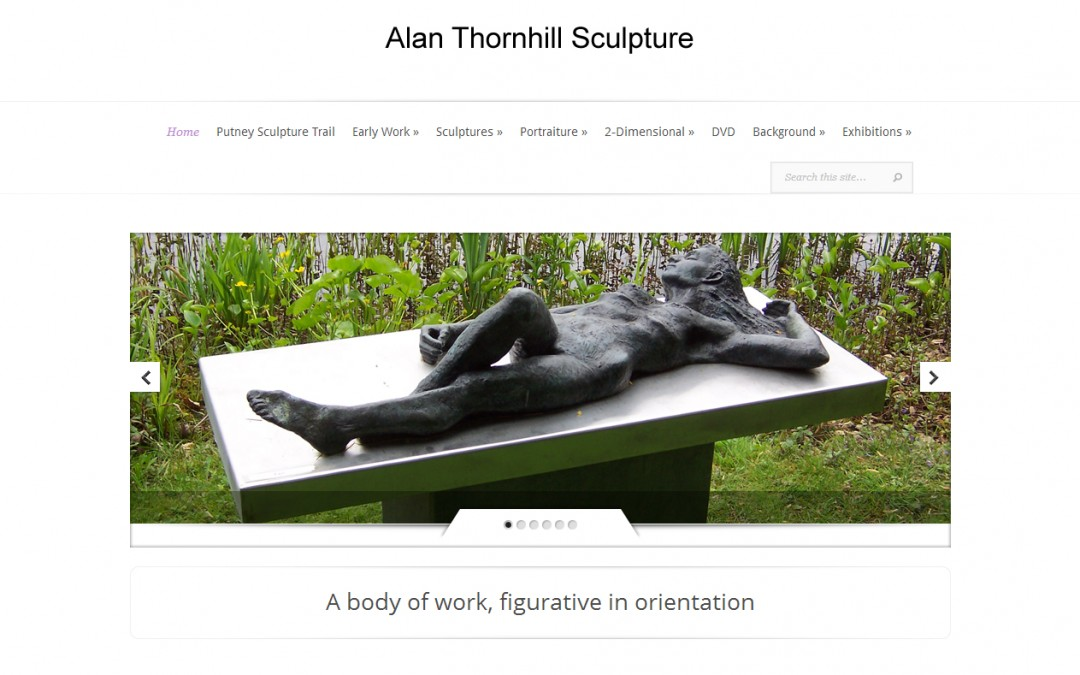 Alan Thornhill, Sculptor