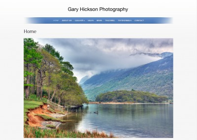 Gary Hickson, Photographer