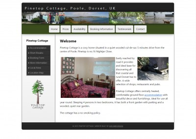 Self Catering Holiday Cottage Let