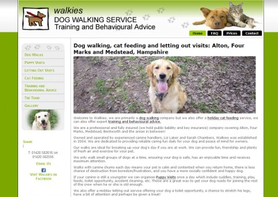 Dog Walking/Pet Sitting