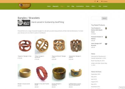 Hand-Carved Wooden Jewellery