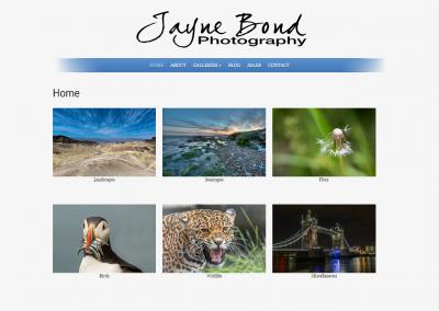 Jayne Bond, Photographer