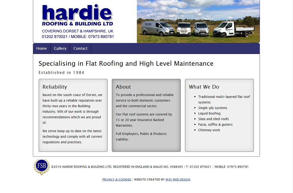 Hardie Roofing and Building Ltd.