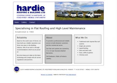 Hardie Roofing and Building Ltd.