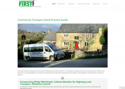 Wiltshire Community First's 'Good Practice Guide'