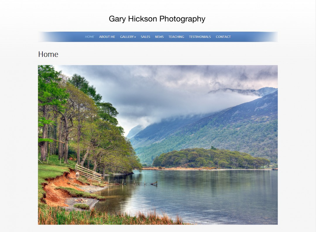 Gary Hickson, Photographer