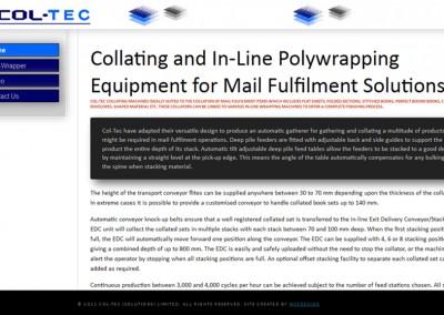 Collating Equipment
