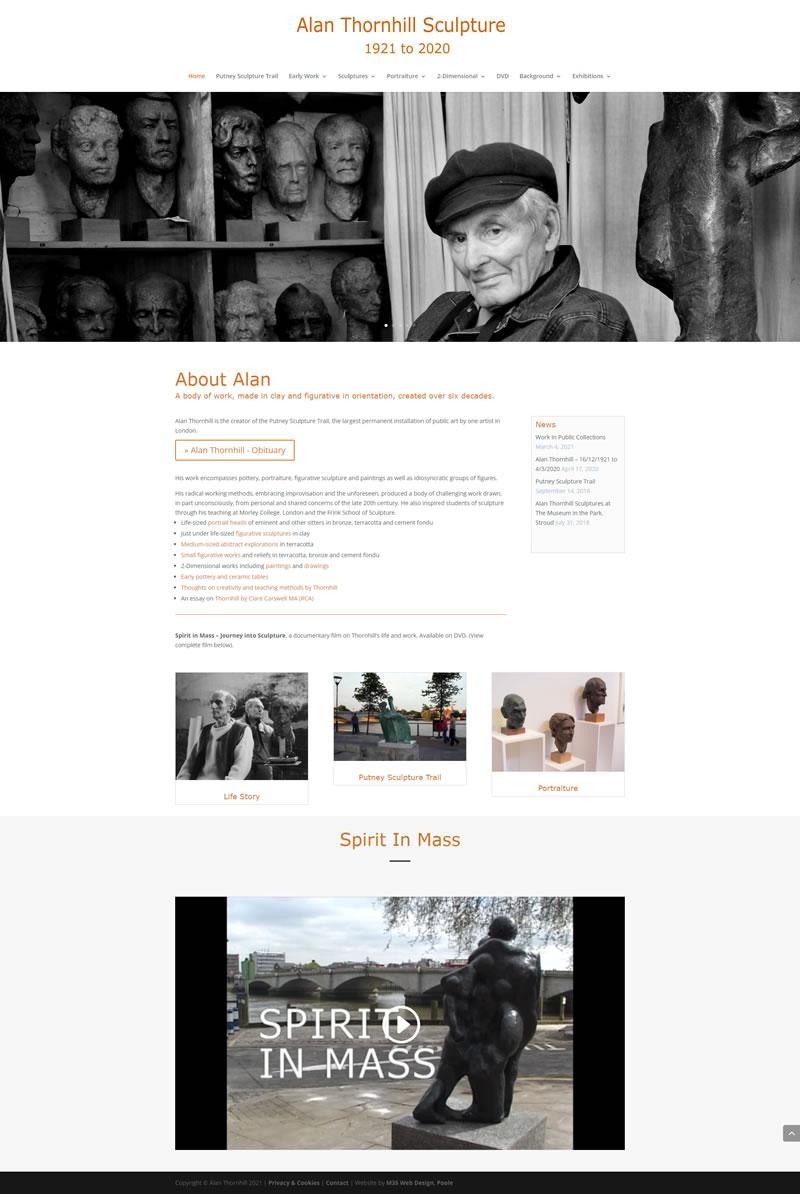 Alan Thornhill, sculptor - new website.