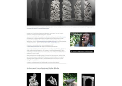 Jonathan Sells, Stone Carver