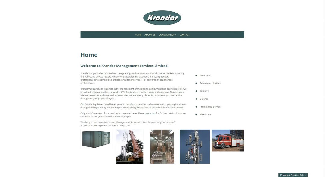 Krandar Management Services Ltd., Poole, Dorset.