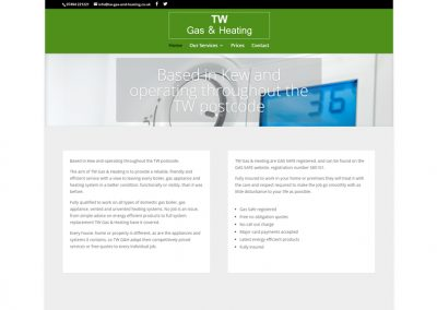 TW Gas & Heating