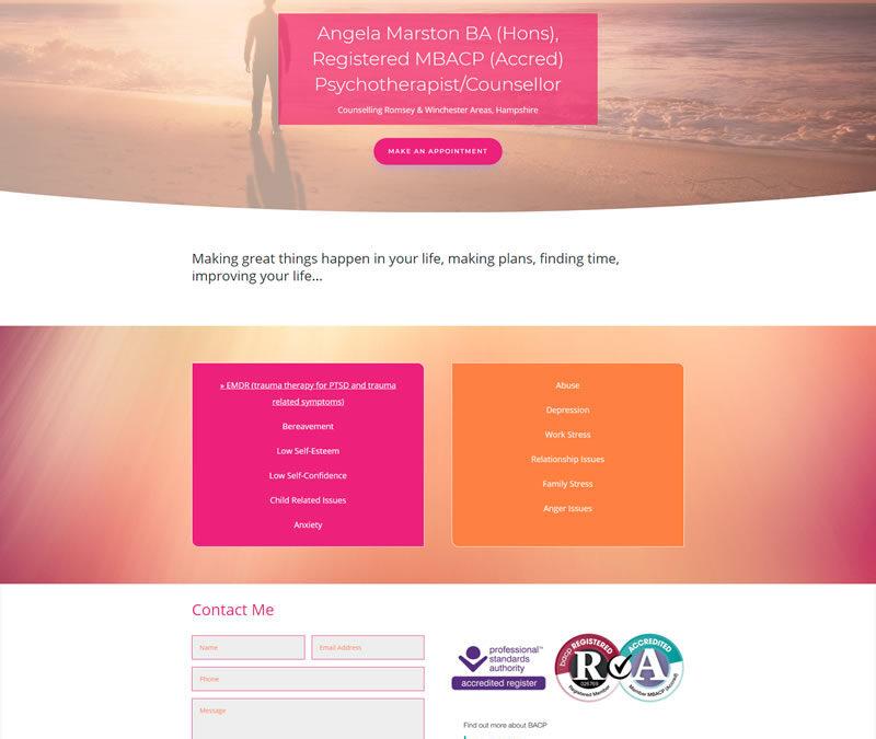 Angela Marston – Horizons Counselling Service
