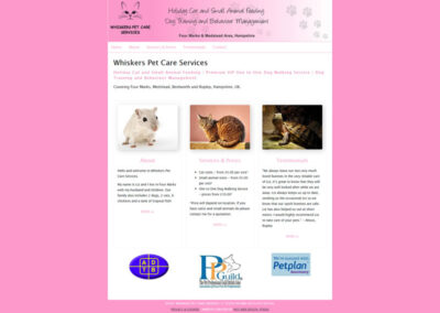 Whiskers Pet Care Services