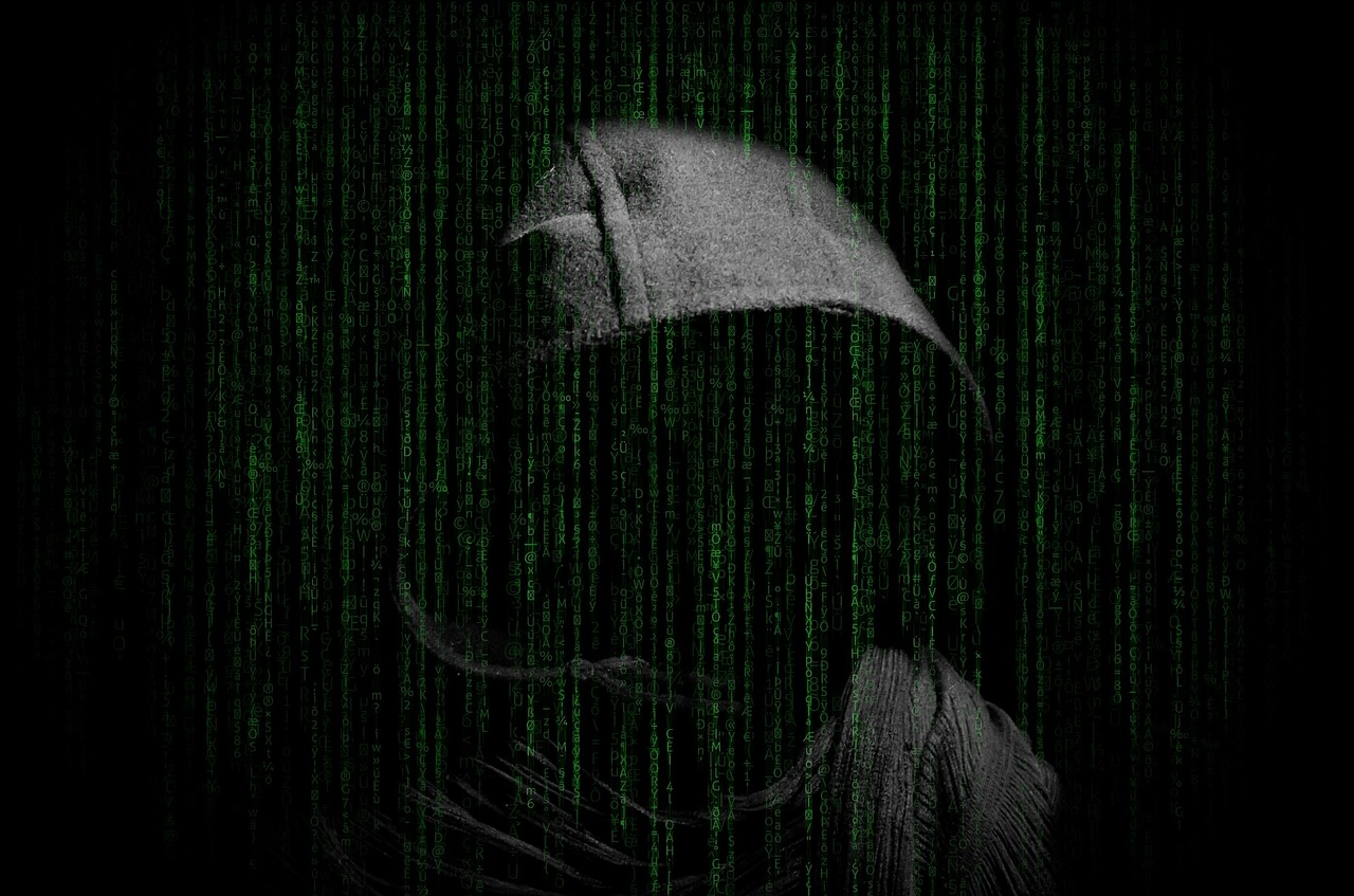 Image of email hacker.